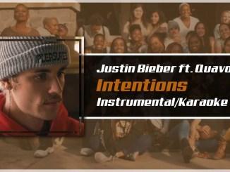 Justin Bieber – Intentions Instrumental Ft. Quavo
