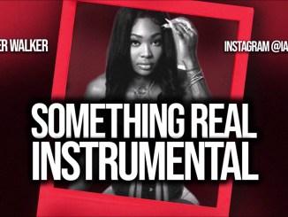 Summer Walker – Something Real Instrumental Ft. Chris Brown