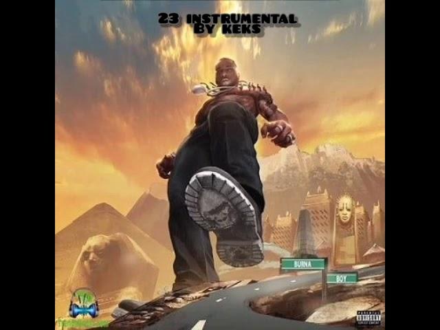 Burna Boy – 23 (Instrumental) mp3 download