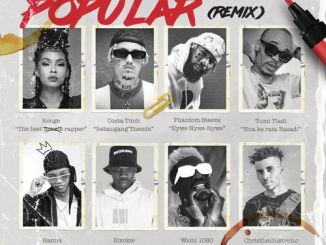 Rouge – Popular (Remix) Ft. Costa Titch, Phantom Steeze, Blxckie