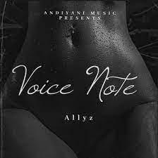 Allyz – Voice Note mp3 download