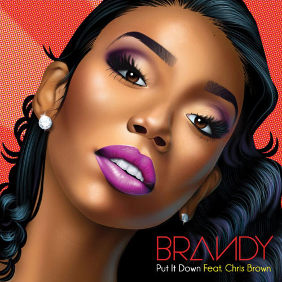 Brandy Ft. Chris Brown - Put It Down mp3 download