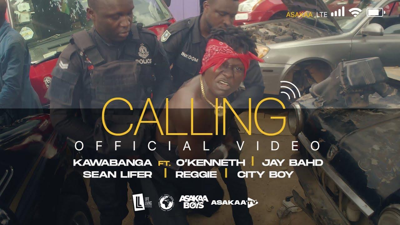 Kawabanga – Calling Ft. O'Kenneth, Jay, Bahd, Sean Lifer, Reggie, City Boy mp3 download