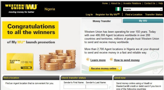 people in Nigeria can receive payment through western union in place of paypal