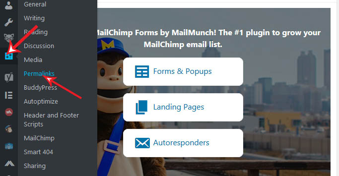 how to change permalink directly from wordpress dashboard