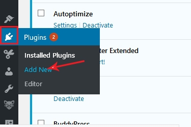 how to install a plugin from the official wordpress.org directories