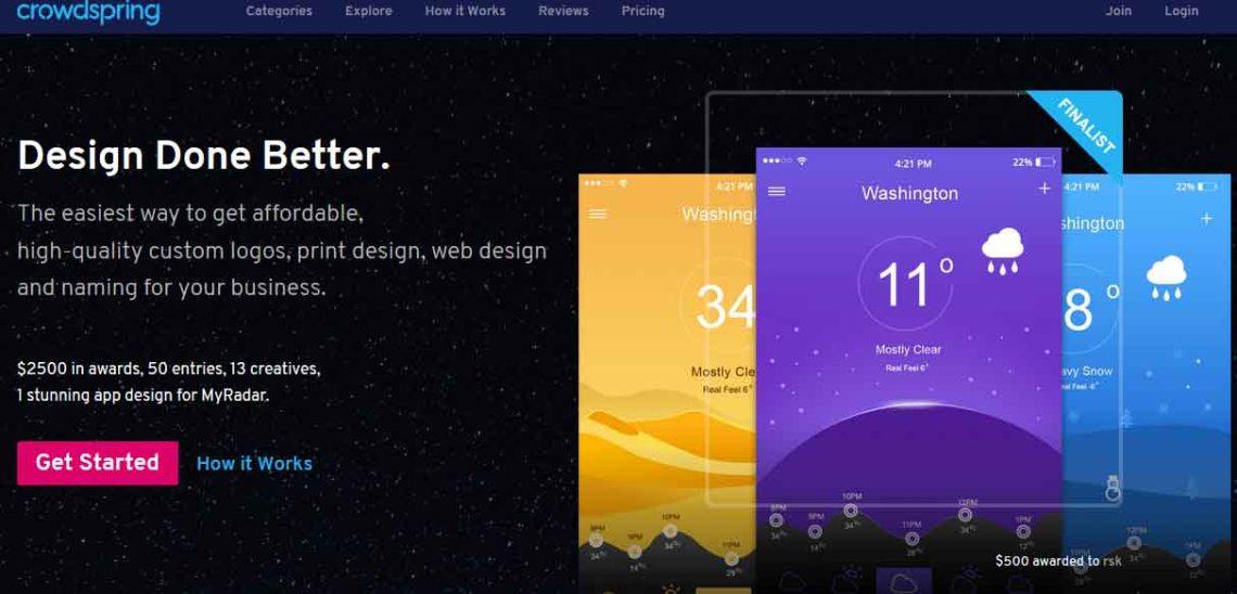 Crowdspring: Design done better
