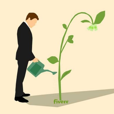 Fiverr growing and earning money