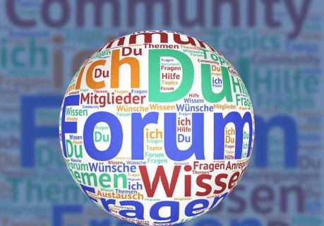 Making money from online forums