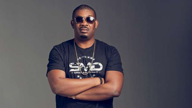 Don Jazzy Instagram picture: Black T-shirt & Shades