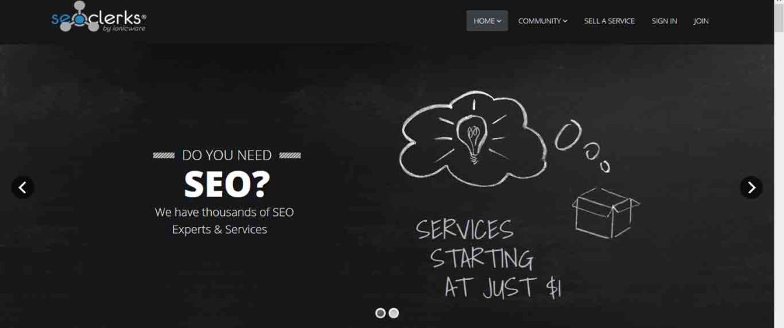 Seoclerks: Do you need SEO? We have thusands of SEO experts and services.