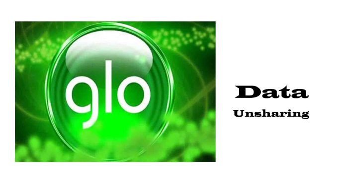 How to unshare glo data plans
