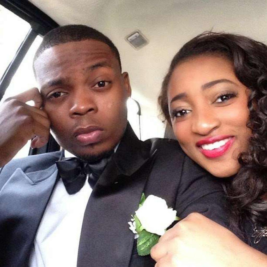 Olamide and his girlfriend, Aisha.