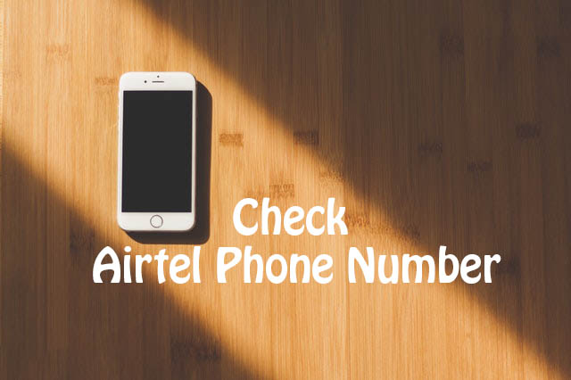 How to check Airtel phone number