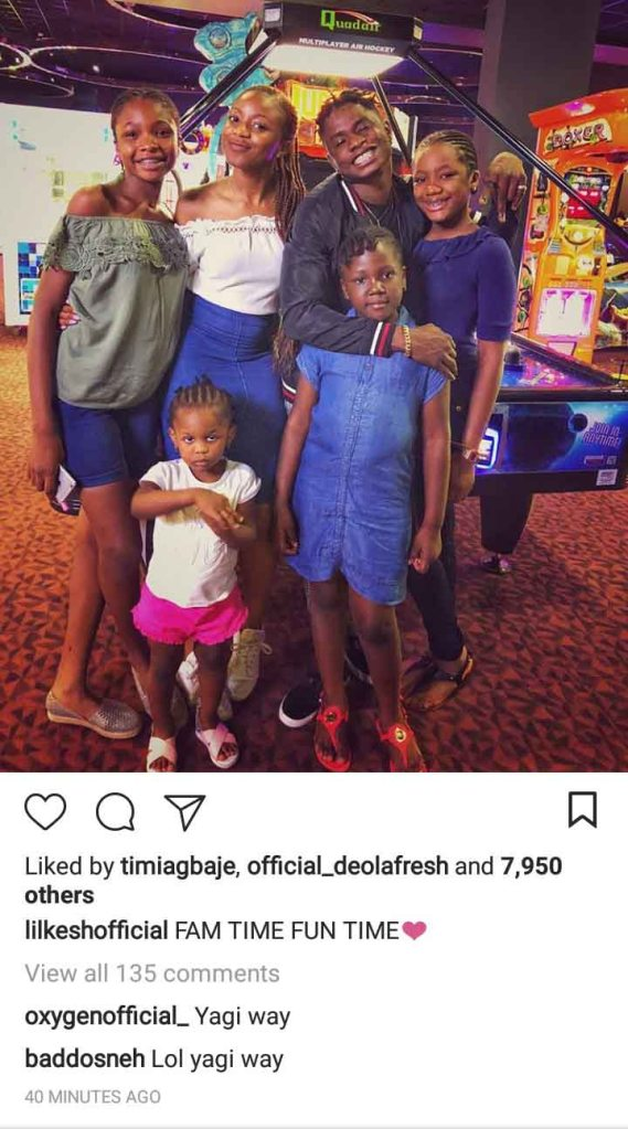 Lil Kesh Family: Parents & Siblings ⋆ NaijaHomeBased