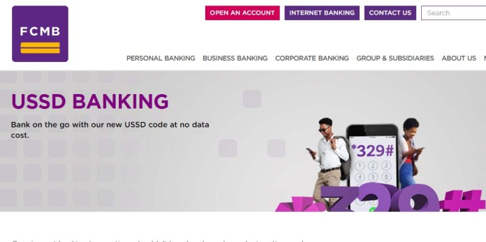 FCMB USSD bank code for recharge, transfer, account balance and more