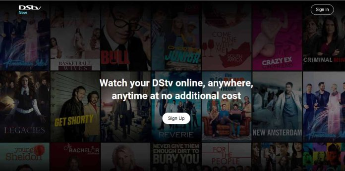 DSTV now app login page: watch your dstv online, anywhere, anytime.