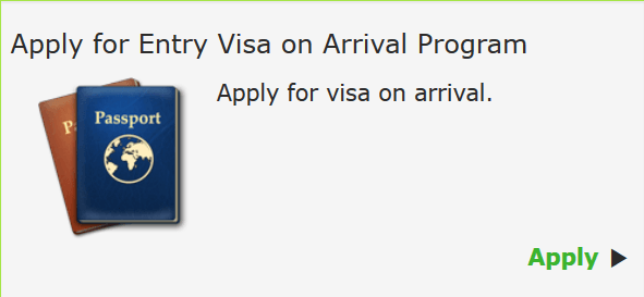 Applying for Nigerian visa on Arrival.