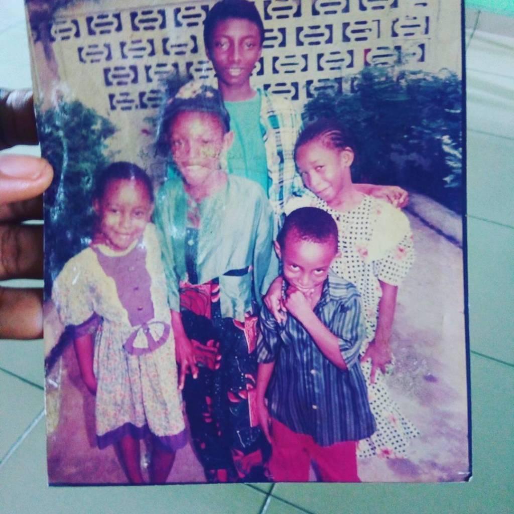 Tonto Dikeh and her siblings