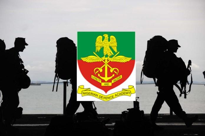 Nigerian Defence Academy logo, soldier