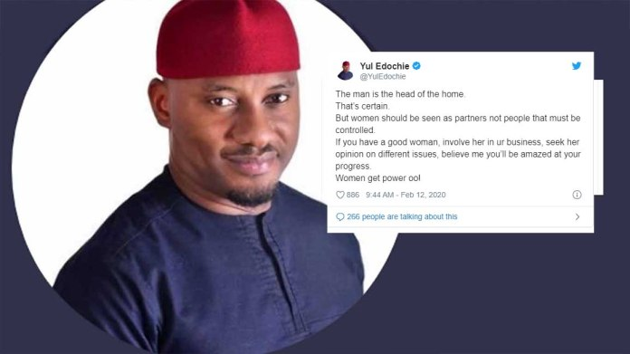 Yul Edochie says women should not be controlled