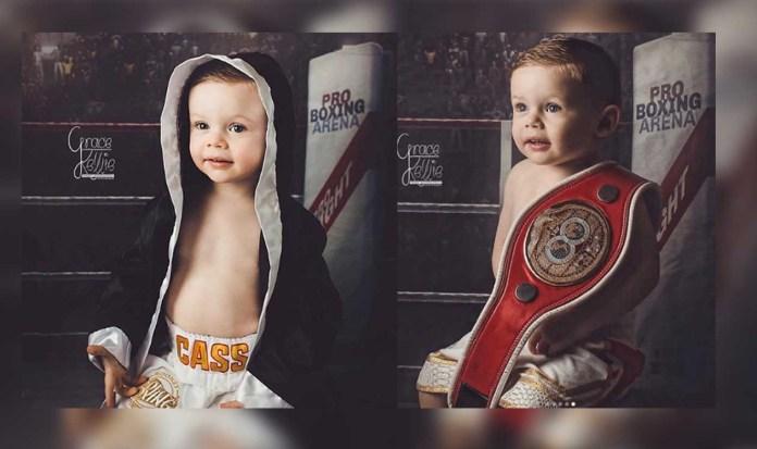 Wayne Rooney's son, Cas Rooney