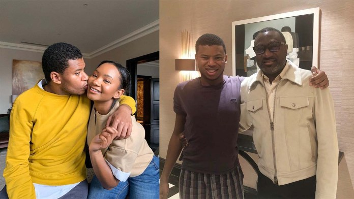 All you need to know about Prince Fewa, Femi Otedola's only Son