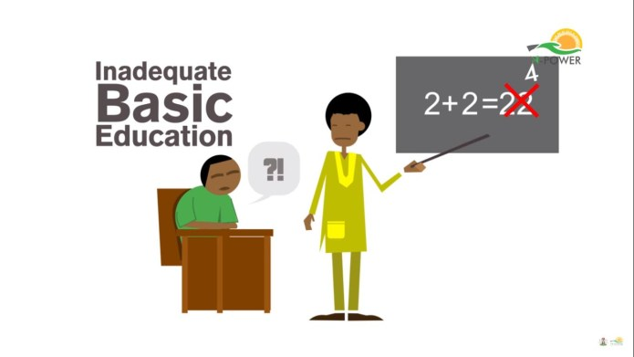 One aim of NPower teach is to solve inadequate basic education in Nigeria.