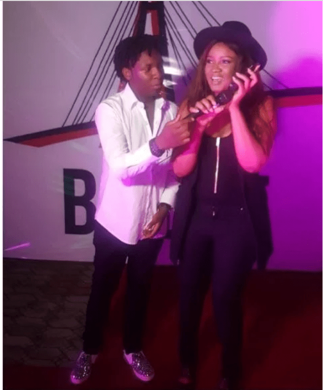 Omotola and first son