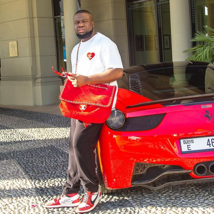 The Nigerian big boy also drives a Ferarri Novitec Rosso 458 Italia