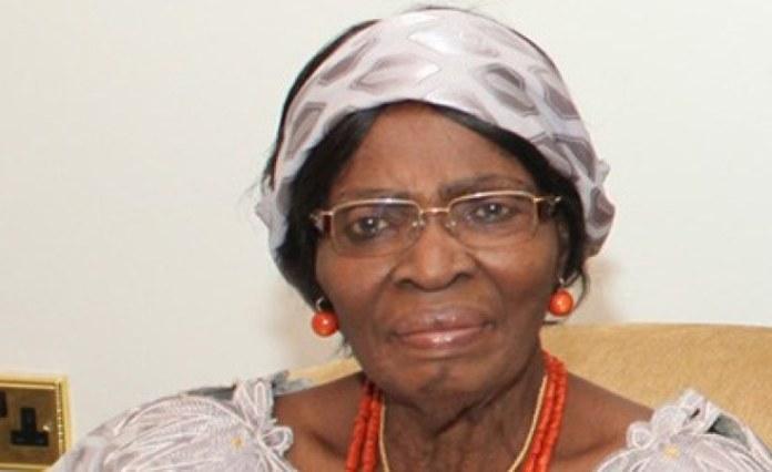 Kamene Okonjo, Ngozi Okonjo-Iweala's mother