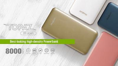 Oraimo Topaz PP-80AR Power Bank Review