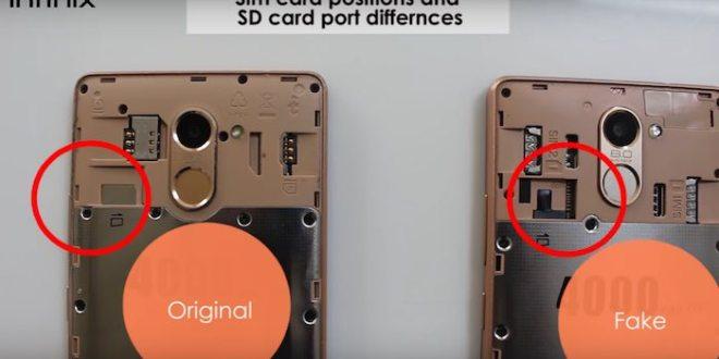 How to Spot a Fake Infinix Smartphone: