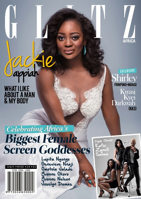 jackie Jackie Appiah Covers Glitz Africa Magazine [Photo]