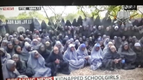 aa6 500x281 See Photos Of Abducted Chibok Girls From New Boko Haram Video [Photos+Video]