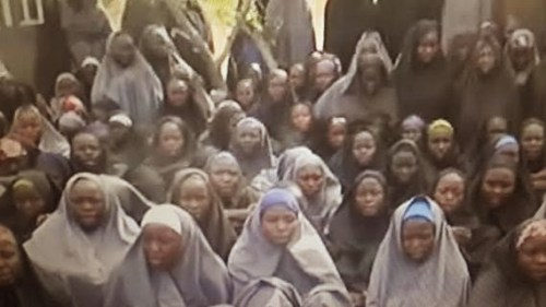 aaaaa2 500x281 See Photos Of Abducted Chibok Girls From New Boko Haram Video [Photos+Video]