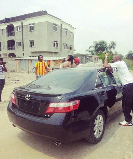 master2 Flavour Shocks Producer Master Kraft With A Brand New Car