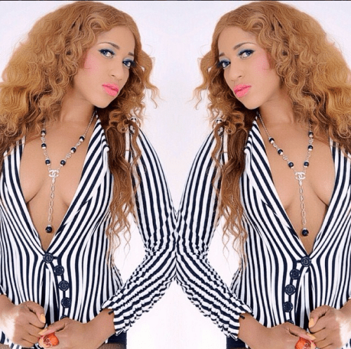 ruky sanda NL1 500x497 Nollywood Actress Rukky Sanda Bares Boo.bs In New Photo
