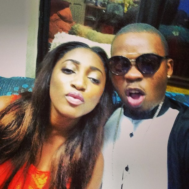 olamidegirlfriend1 Photo Of The Day:  Checkout Nigerian Entertainers And Their Girlfriends