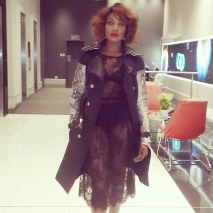 seyi NL WOW!!! See How Smoking Hot Seyi Shay Looks For Channel O 2014 Award Ceremony