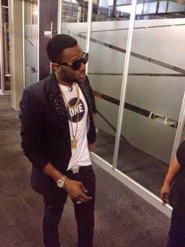 dbanj3 See Dbanj Stylish Look As He Dines With BBA Housemates (Photos)