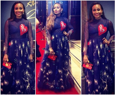 download1 Gov. Ajimobis Daughter Wears N3m Dress To British Fashion Awards (Photo)