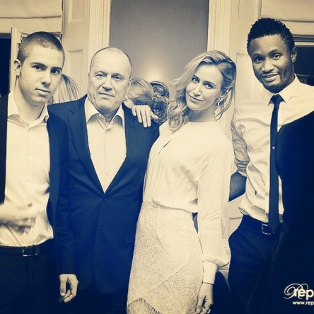 mikel NL Mikel Obi's Girlfriend Shows Off The 3 Most Important Men In Her Life Which Includes The Footballer [See Photo]