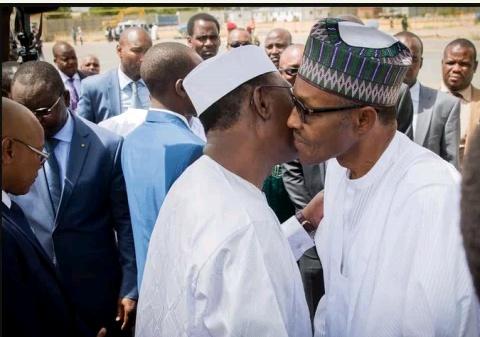 Buhari in Abuja