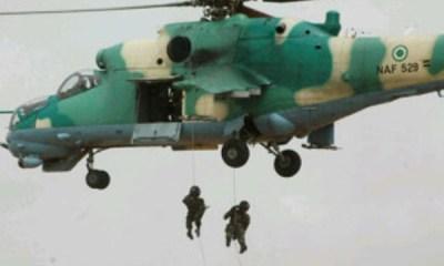 Air Force Denies Killing 250 Boko Haram Fighters In Maiduguri