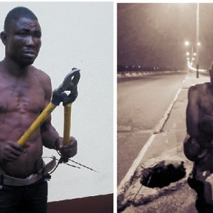 How RRS Foiled My Chance To Make Money – Interstate Cable Thief (Photo)