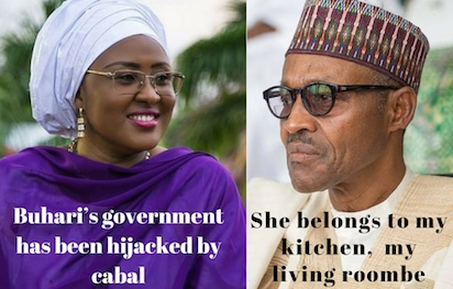 Image result for Buhari wife, Aisha?