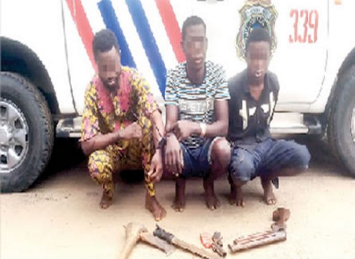 """asumo - """"I Learnt To Shoot When I Joined Eiye"""" – Robber Arrested Opens Up"""