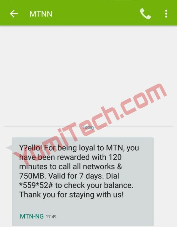 FREE Data & Call Time!!! MTN Prestige Anniversary Is ...