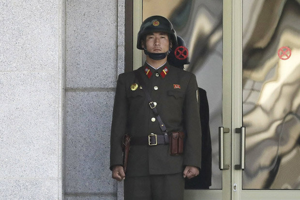 A North Korean soldier at the South Korean border 1090002 - Serious Tension As Soldier Is Shot Dead At North Korean Border